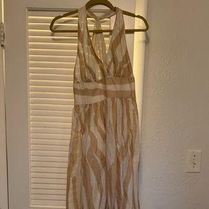 Linen Maxi Dress!